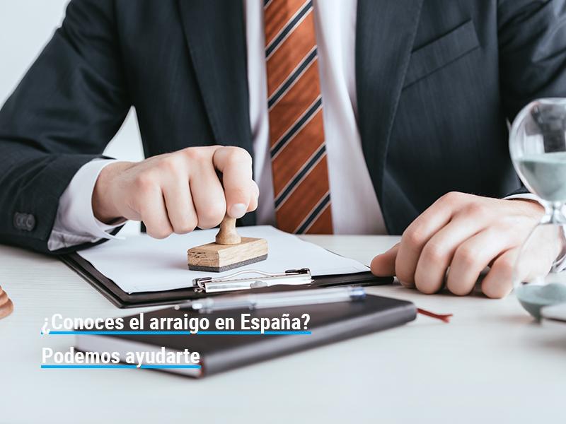 Arraigo en España